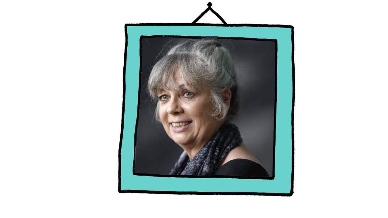 Sue Palmer in frame